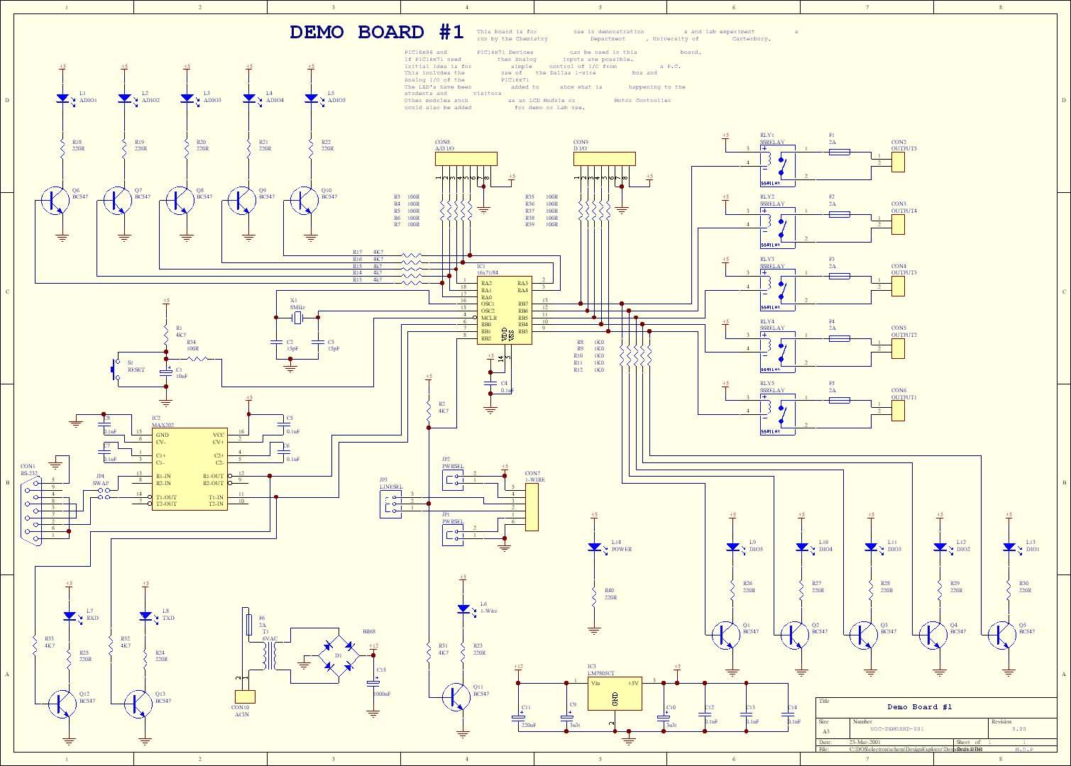 montages de la categorie microcontrolleurs microchip