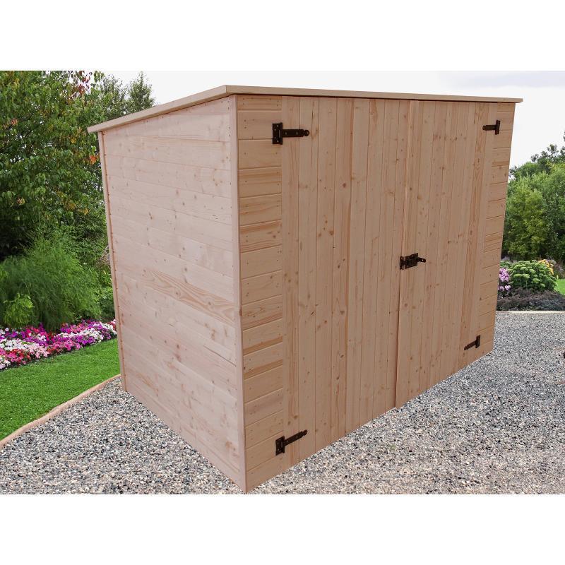 habrita c abri mural pour 2 roues et mobilier de jardin catgorie abri de jardin. Black Bedroom Furniture Sets. Home Design Ideas