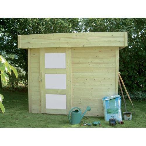 Solid catgorie abri de jardin for Sauna exterieur toit plat