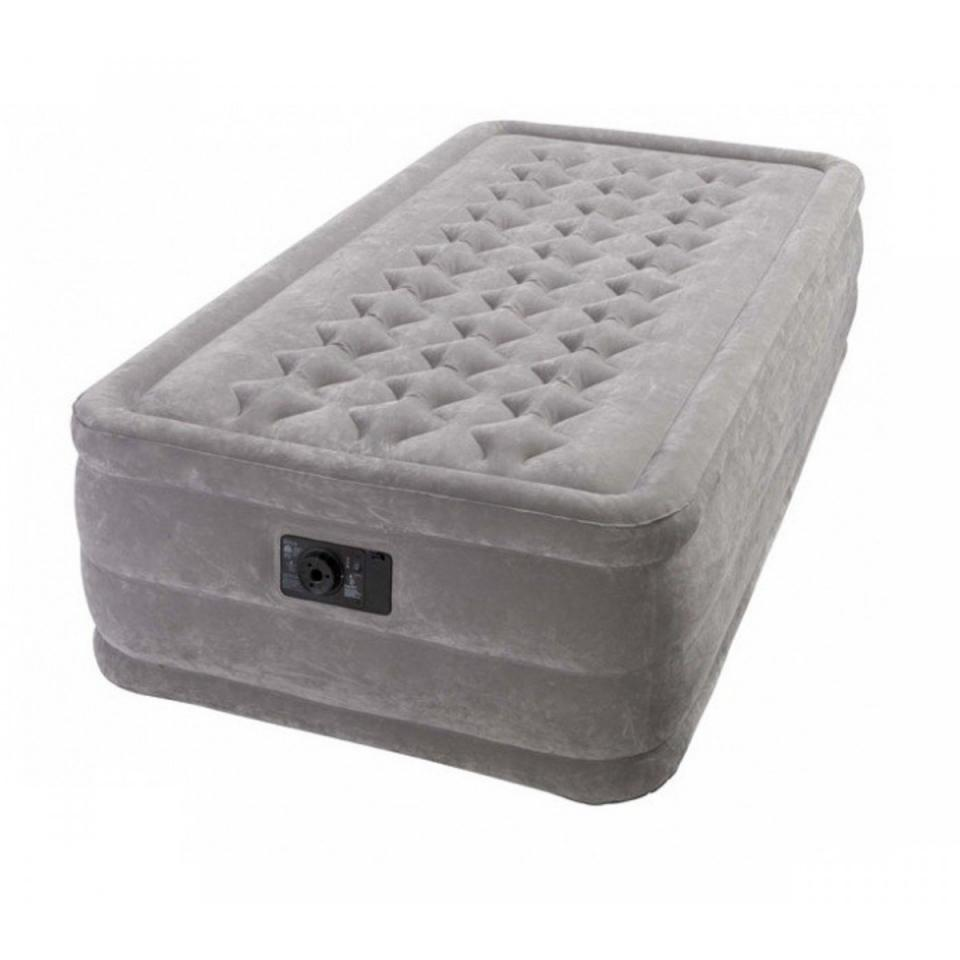 Intex matelas gonflable ultra plush 1 personne cat gorie for Intex matelas gonflable electrique