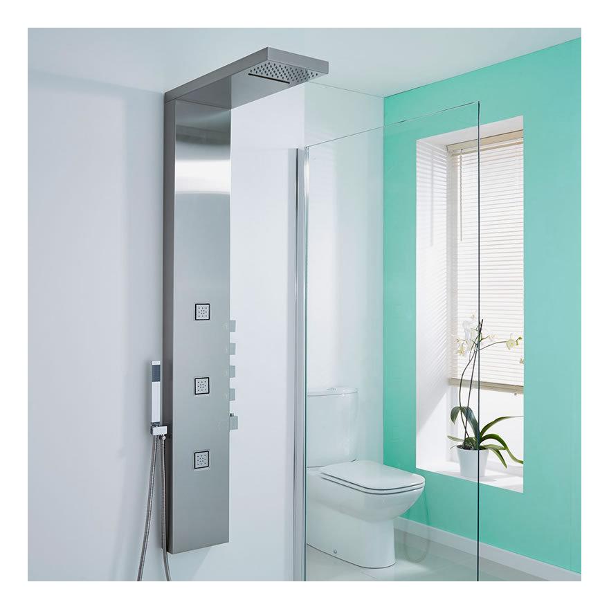 hudson ccolonne de douche thermostatique lauzach reed. Black Bedroom Furniture Sets. Home Design Ideas
