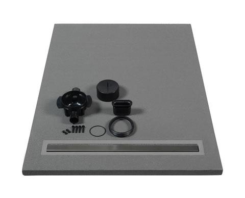 lazer receveur carreler panodur lineal coulement linaire 80x90 sh. Black Bedroom Furniture Sets. Home Design Ideas