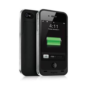 mophie juice pack air batterie pour iphone 4 4s. Black Bedroom Furniture Sets. Home Design Ideas