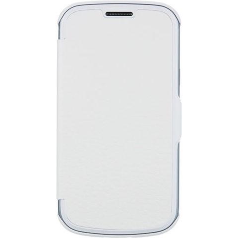 Samsung etui folio blanc pour galaxy trend lite - Coque samsung galaxy trend lite blanc ...