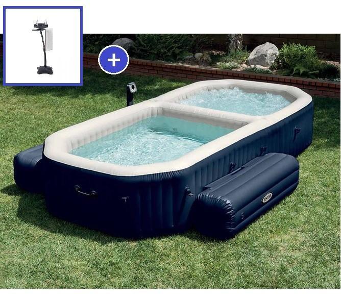 piscine gonflable carre conceptions de maison. Black Bedroom Furniture Sets. Home Design Ideas