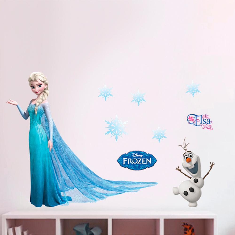 disney cgrand sticker elsa la reine des neiges frozen. Black Bedroom Furniture Sets. Home Design Ideas