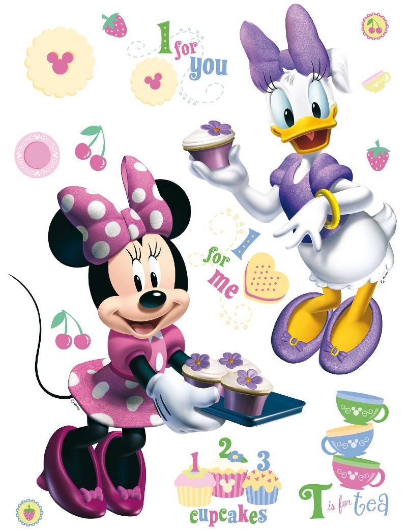 Disney cstickers g ant minnie et daisy - Minnie et daisy ...
