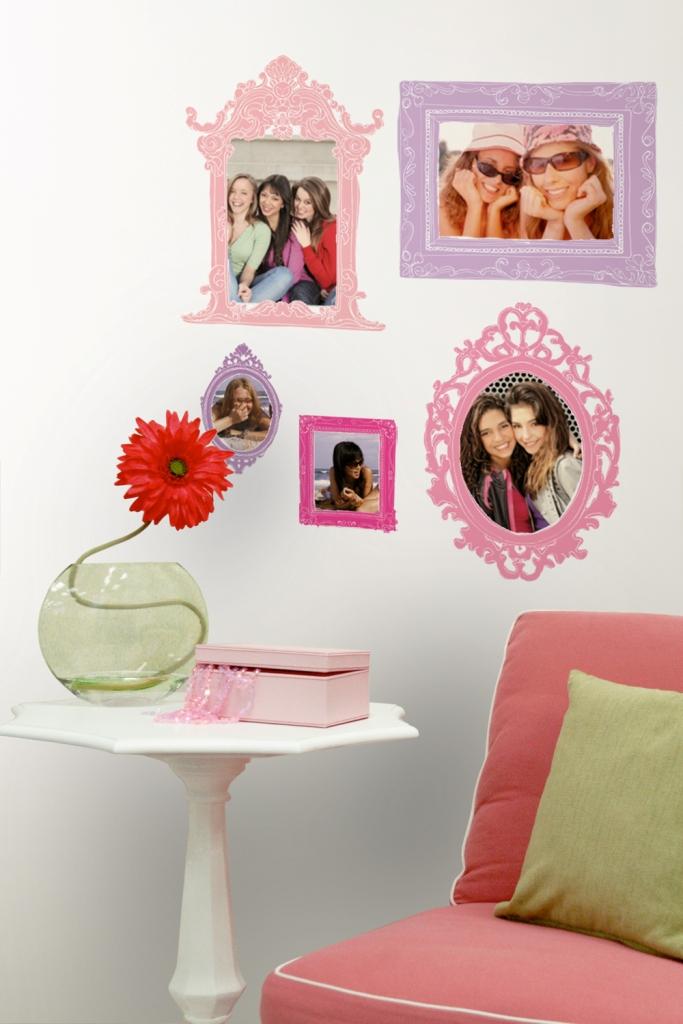 roommates 12 stickers cadre photo. Black Bedroom Furniture Sets. Home Design Ideas