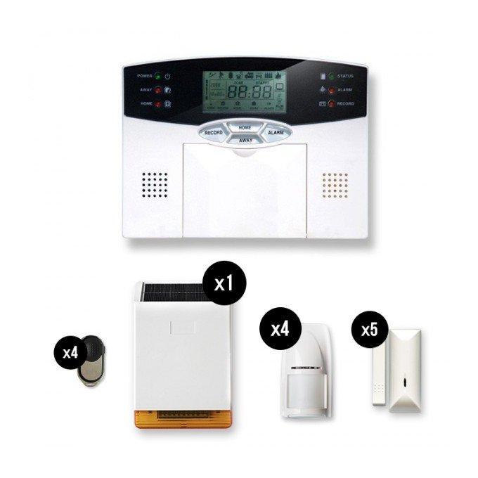 Tike catgorie alarme de maison for Alarme maison sans fil tike securite