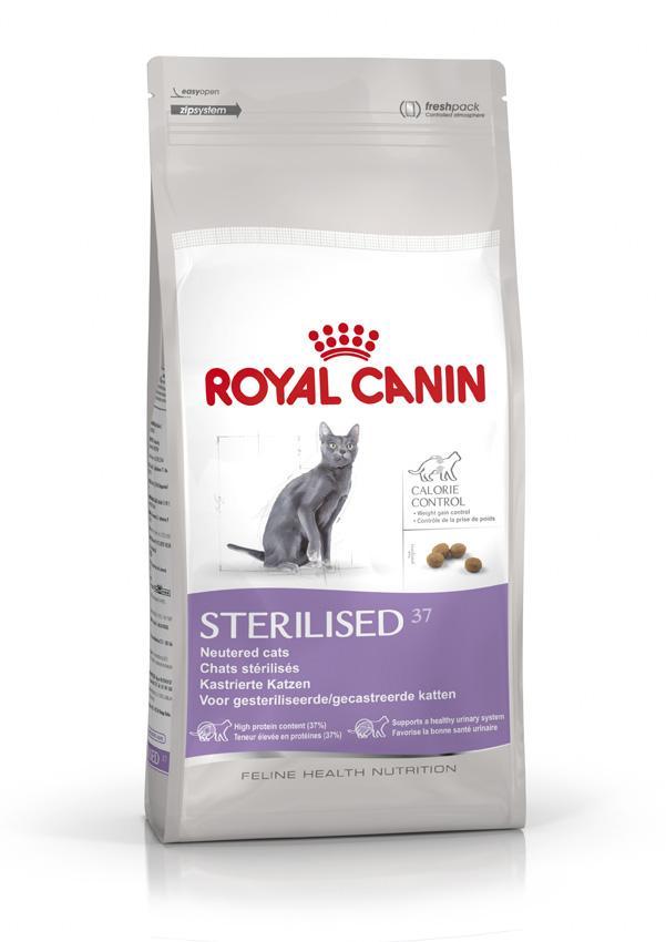 royal c canin sterilised37 2 kg catgorie. Black Bedroom Furniture Sets. Home Design Ideas