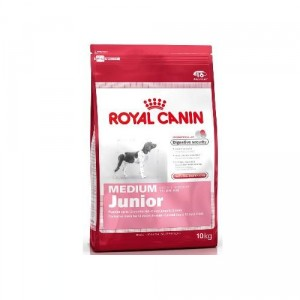 royal c canin medium junior contenances 10 kg. Black Bedroom Furniture Sets. Home Design Ideas