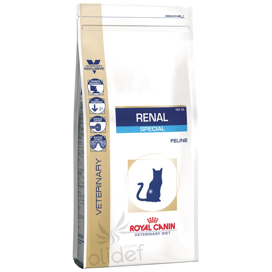 royal c canin veterinary diet chat renal special rsf 26. Black Bedroom Furniture Sets. Home Design Ideas