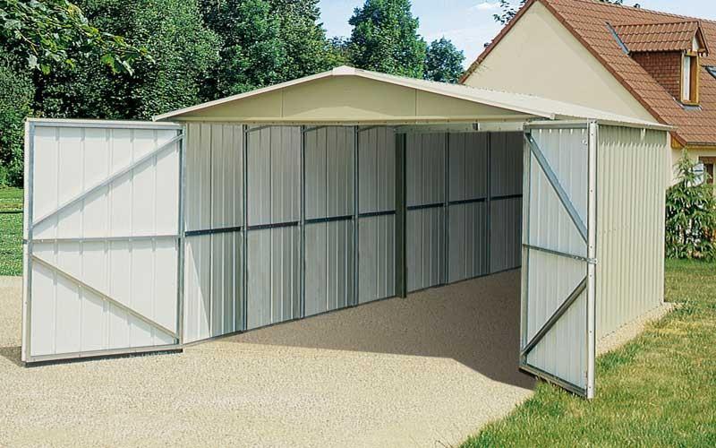 Catgorie abri de jardin - Abri jardin metal yardmaster bordeaux ...