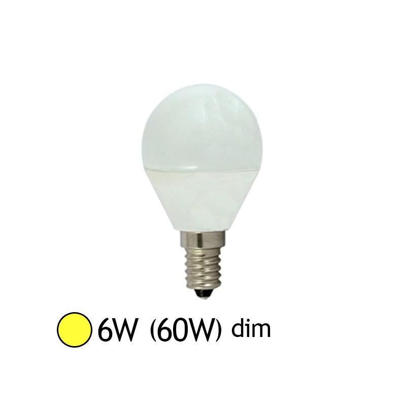 vision campoule led e14 6w 3000k bulb dimmable el 7483bd catgorie ampoule lectrique. Black Bedroom Furniture Sets. Home Design Ideas
