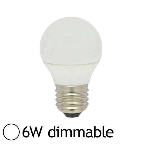 Vision ampoule led 6w dimmable e27 blanc jour el - Ampoule led dimmable ...