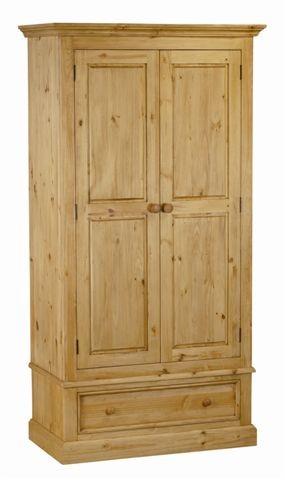 Couleurs carmoire en pin 2 portes 1 tiroir des alpes - Comparateur de prix congelateur armoire ...