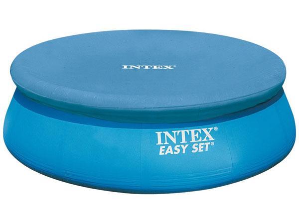 Intex c easy set bche pour pataugeoire 305 cm catgorie for Bache piscine easy set
