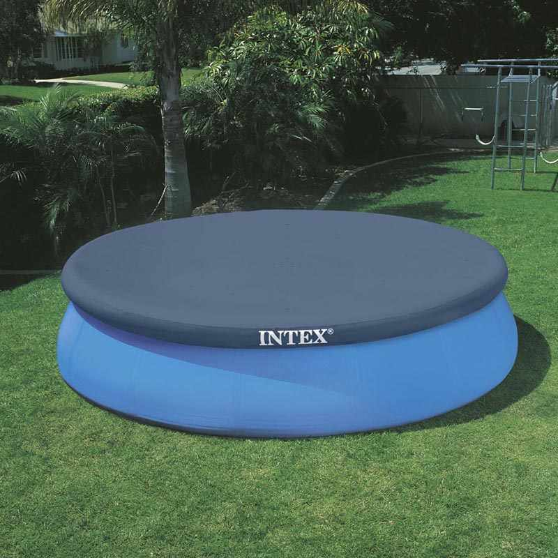 Intex piscine autoportante easy set ronde x m for Bache piscine intex 4 57
