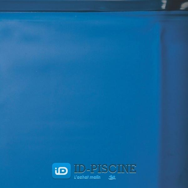 Gre liner bleu 5 5 x 1 20 m pool pour piscine ronde for Liner piscine ronde 5 50