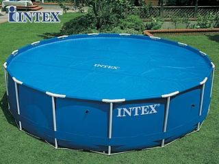 Intex couverture d t bulles piscine hors sol 244cm for Piscine hors sol intex ronde