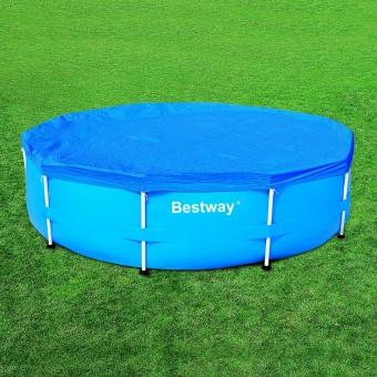 Bestway couverture solaire steel pro 521cm catgorie for Liner pour piscine tubulaire bestway