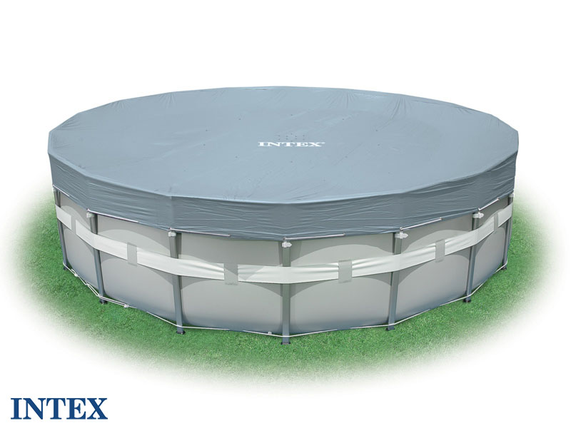 Intex cbche deluxe tubulaire m for Intex piscine liner