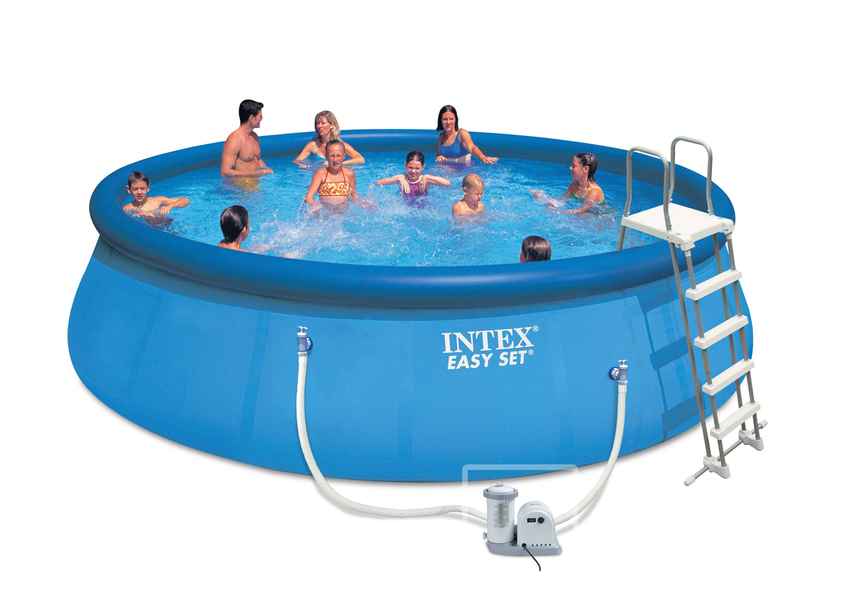 Intex liner autostable 549 x 122 m liner seul for Piscine intex liner