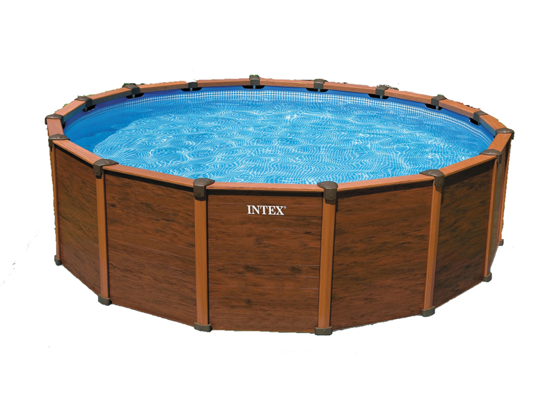 Intex liner squoa rond 508 x 124 m liner seul for Liner piscine intex
