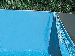 Toi liner piscine swimpool ronde 460 x 120cm bleu for Liner piscine ronde