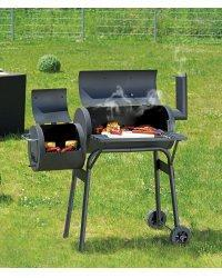 Barbecue fumoir 6 grilles