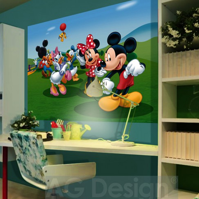disney cposter xxl la maison de mickey. Black Bedroom Furniture Sets. Home Design Ideas