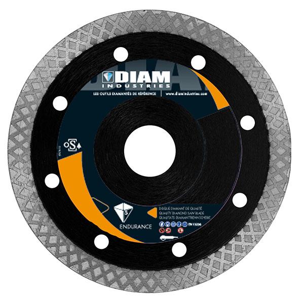 Diam disque ant 125 mm pour le carrelage c ramique g for Disque meuleuse pour couper carrelage