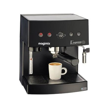 machine expresso filtre automatique chrom mat magimix pour espresso et caf fil. Black Bedroom Furniture Sets. Home Design Ideas