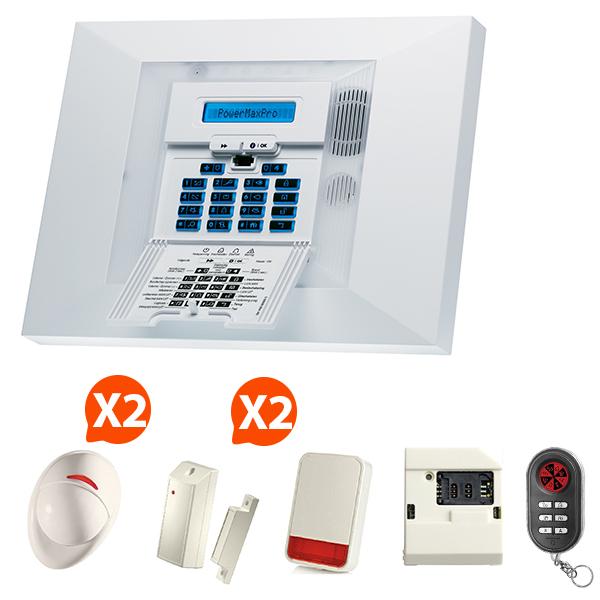visonic alarme gsm sans fil nf a2p kit 7. Black Bedroom Furniture Sets. Home Design Ideas
