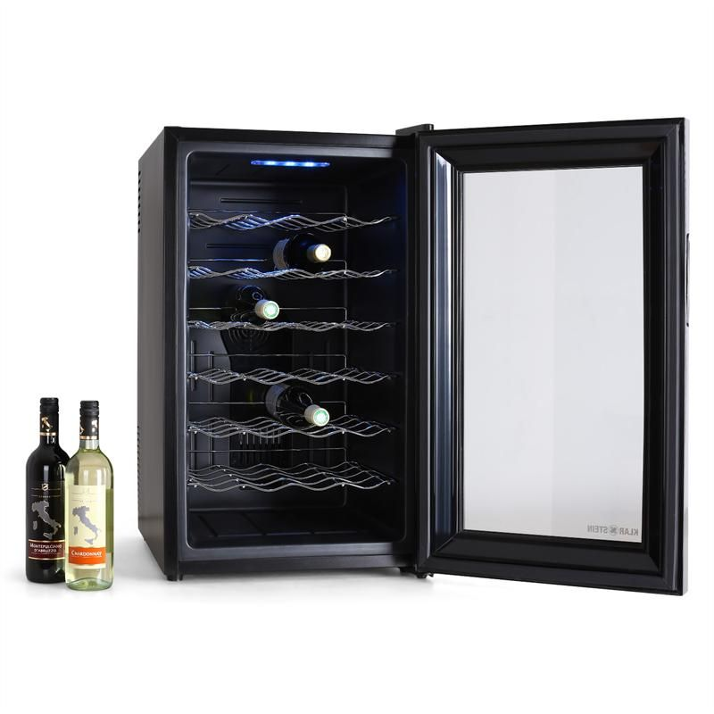 klarstein cave vin rfrigre 28 bouteilles 70l frigo. Black Bedroom Furniture Sets. Home Design Ideas