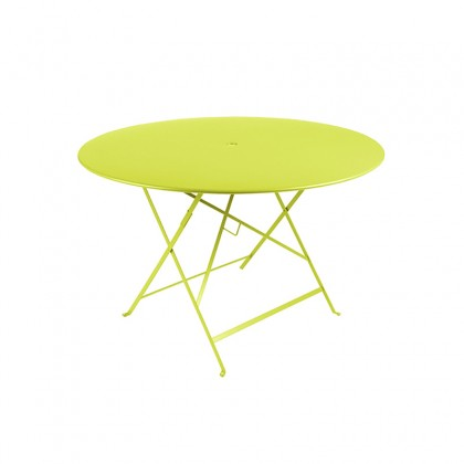 Fermob ctable bistro 117cm couleur verveine for Table de jardin bistrot