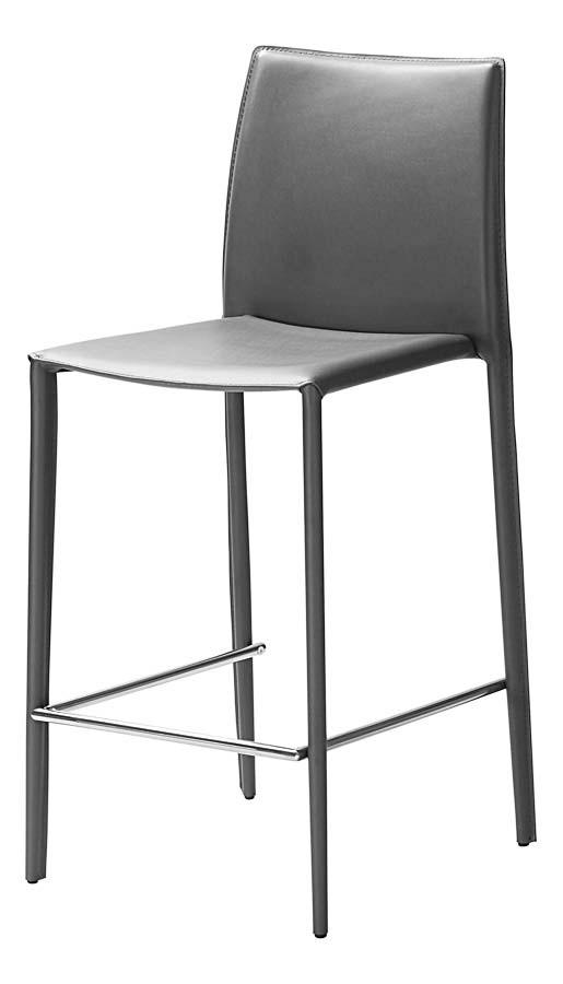 Id chaise haute grise bor ale lot de 2 clik for Chaise de salle a manger grise