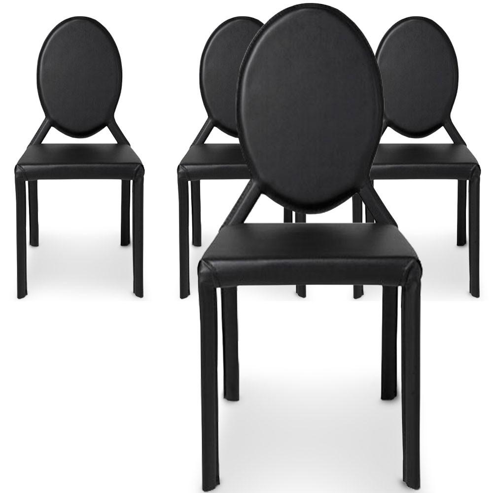 Menzzo lot de 2 chaises taupes en velours port declikdeco for Chaise de salle a manger velours