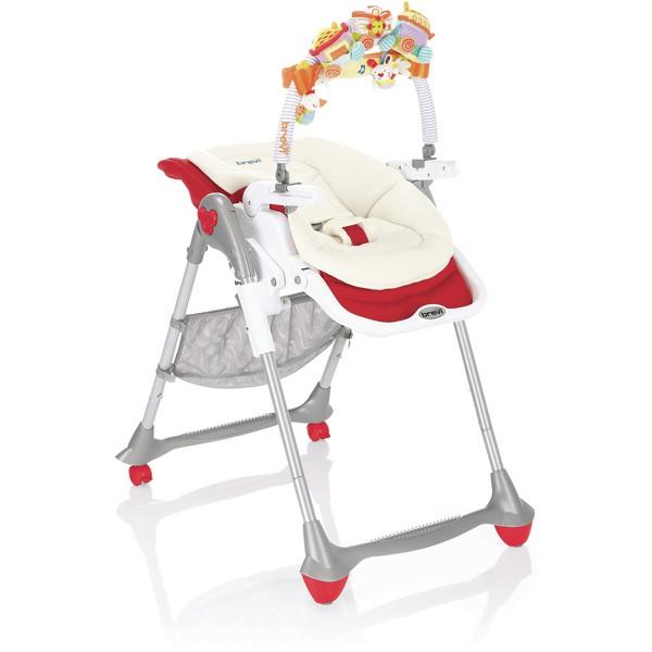brevi chaise haute b fun 3en1 rouge. Black Bedroom Furniture Sets. Home Design Ideas