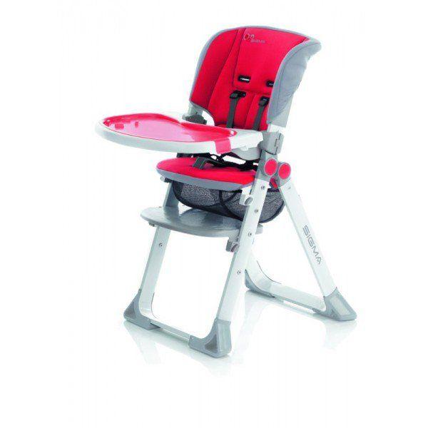 jane c chaise haute sigma red. Black Bedroom Furniture Sets. Home Design Ideas
