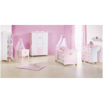 pinolino c chambre enfant princesse caroline 3 pcs catgorie lits barreaux. Black Bedroom Furniture Sets. Home Design Ideas