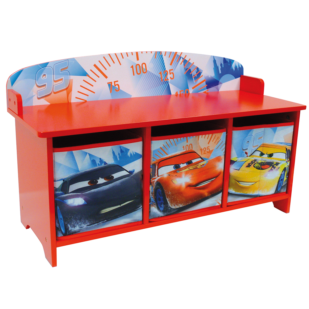 disney cbanc et coffre de rangement cars ice racing. Black Bedroom Furniture Sets. Home Design Ideas