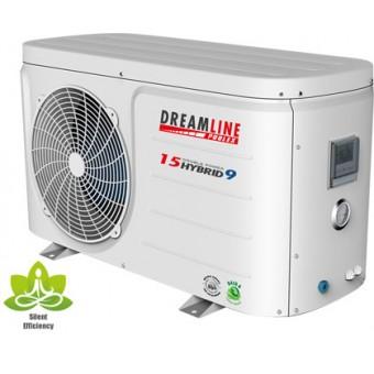 Poolstar pompe chaleur dreamline hybrid 12 6 for Chauffage piscine 20m3