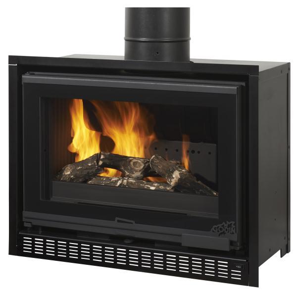 godin foyer bois insert 660161. Black Bedroom Furniture Sets. Home Design Ideas
