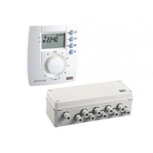 Delta crgulateur filaire 2 zones 200 catgorie radiateur for Temperature exterieur
