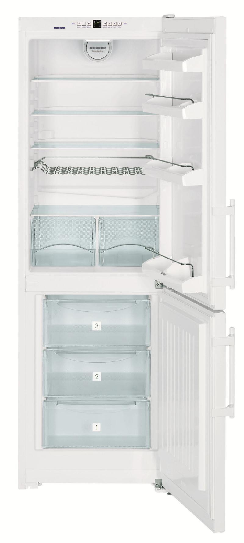liebherr r frig rateur combin c352323. Black Bedroom Furniture Sets. Home Design Ideas