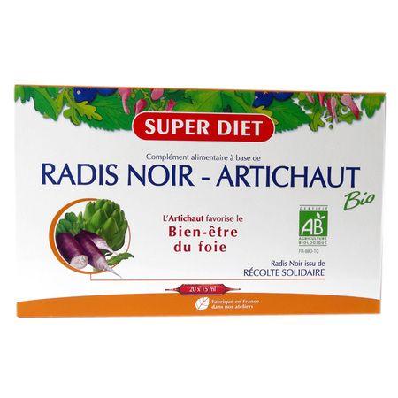 super c diet radis noir artichaut catgorie digestion ventre plat. Black Bedroom Furniture Sets. Home Design Ideas