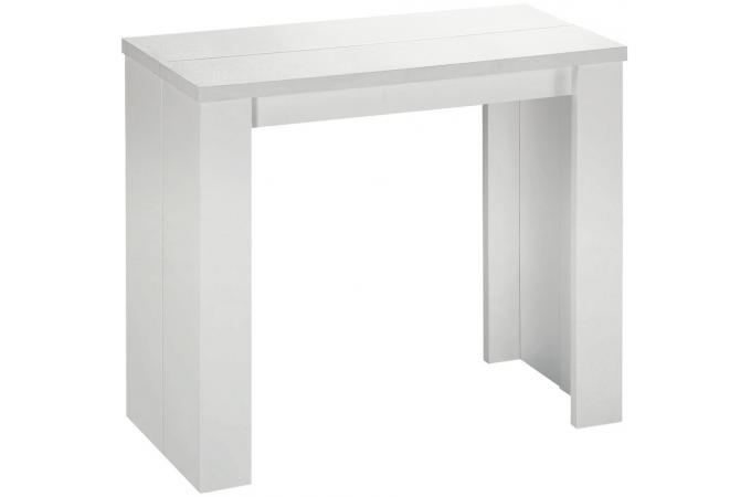 Menzzo - Table console blanche ...