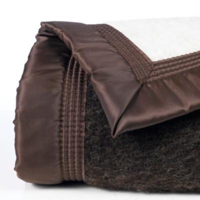 couverture laine woolmark iseran ourson 240 x 260 cm. Black Bedroom Furniture Sets. Home Design Ideas