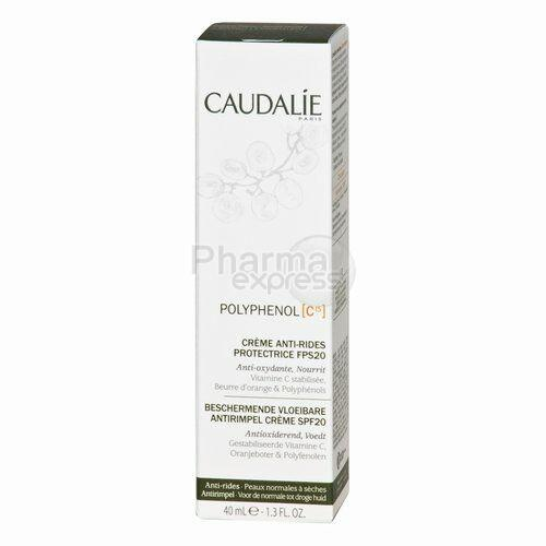 caudalie c polyphenol c15 creme a ride ip20 40ml. Black Bedroom Furniture Sets. Home Design Ideas